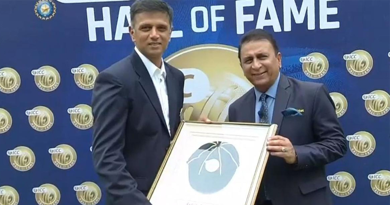 Rahul Dravid Hall of fame
