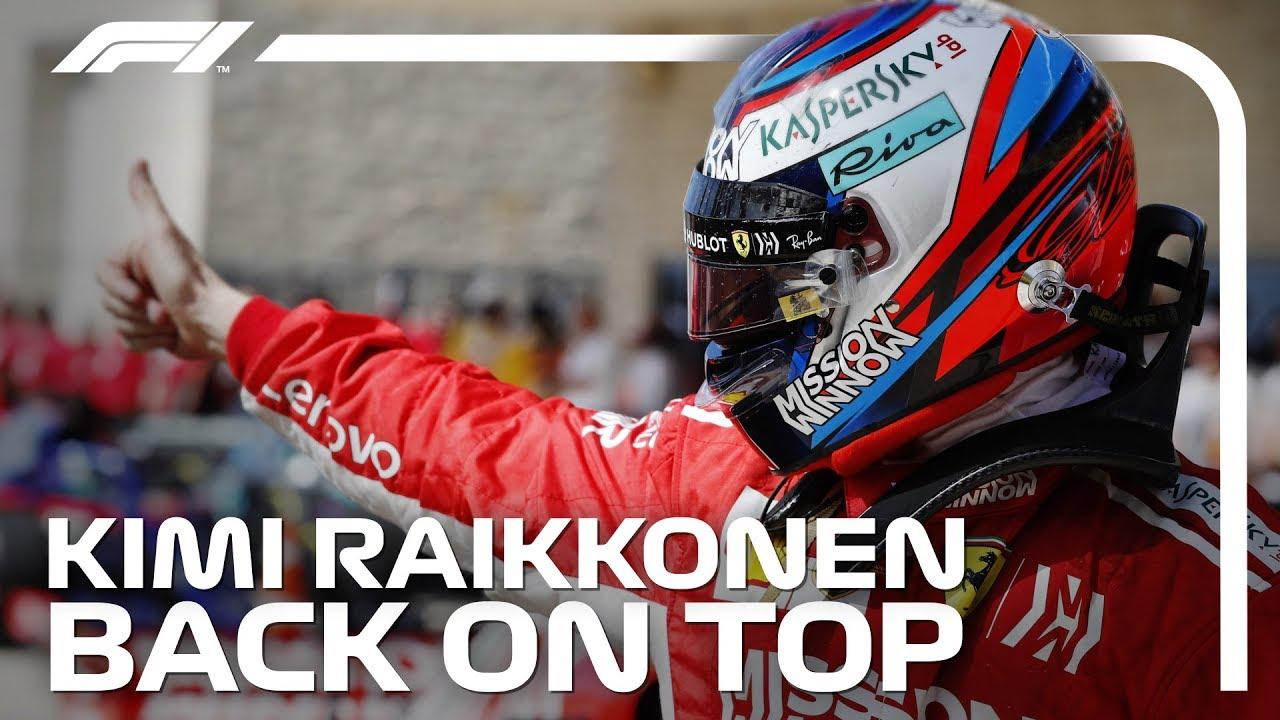 Kimi Raikkonen 2018