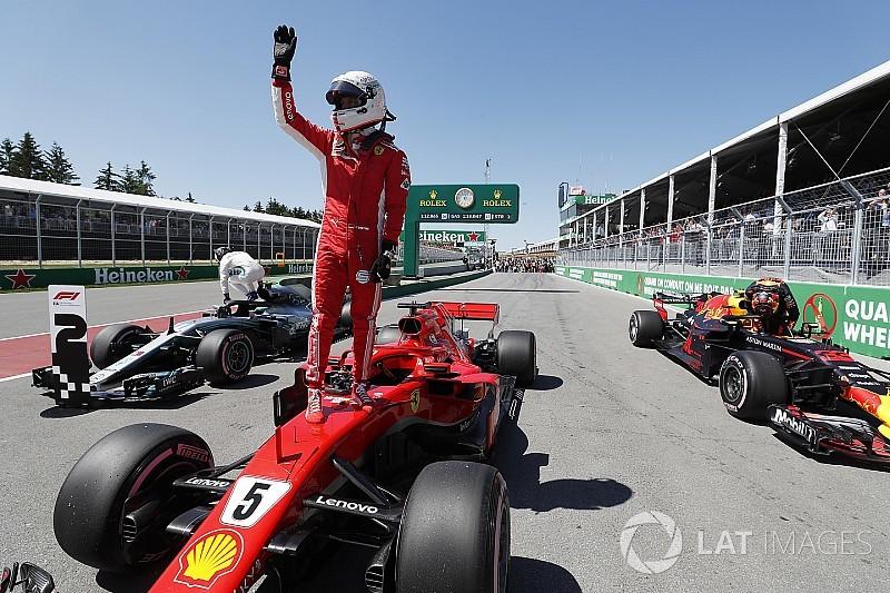 Sebatian Vettel 2018