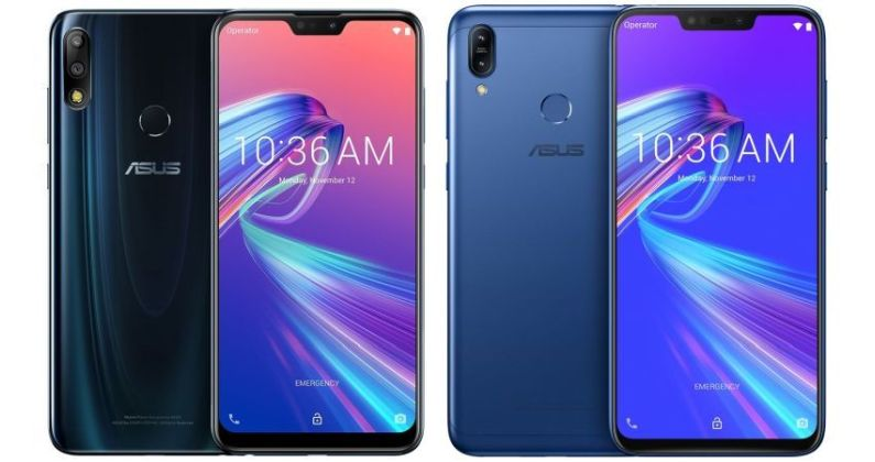 ASUS Zenfone Max Pro M2 and ASUS Zenfone Max M2
