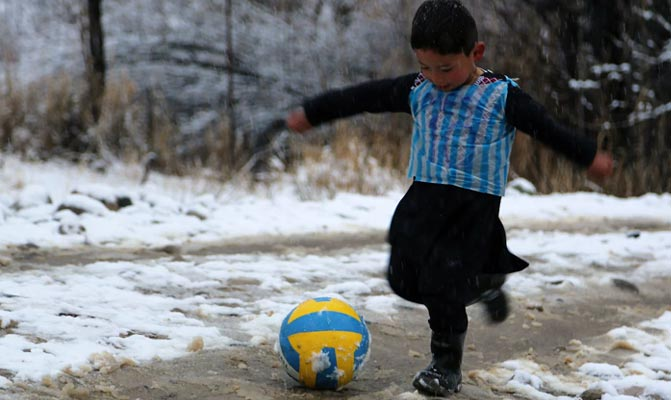 Afghanistan Little Messi