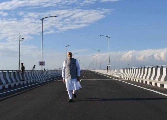 Bogibeel bridge Modi