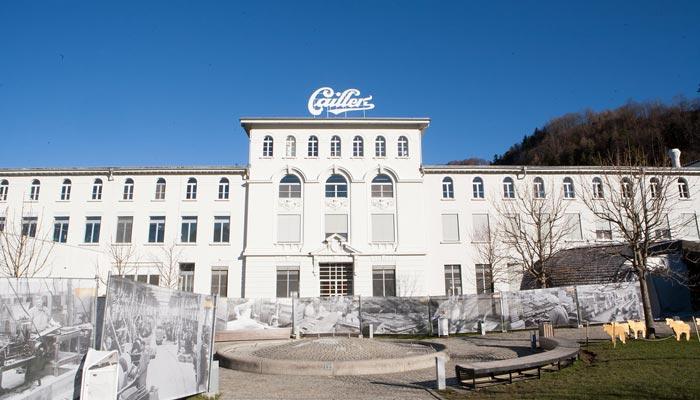 Chocolate factory in switzerland