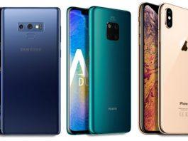 Huawei Mate 20 Pro vs iPhone XR vs Samsung Galaxy Note 9