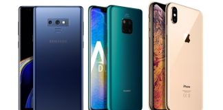 Huawei Mate 20 Pro vs iPhone XR vs Samsung Galaxy Note 9