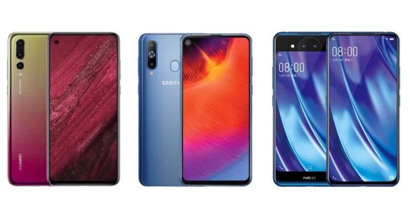 Huawei Nova 4 vs Samsung Galaxy A8s vs Vivo Nex Dual