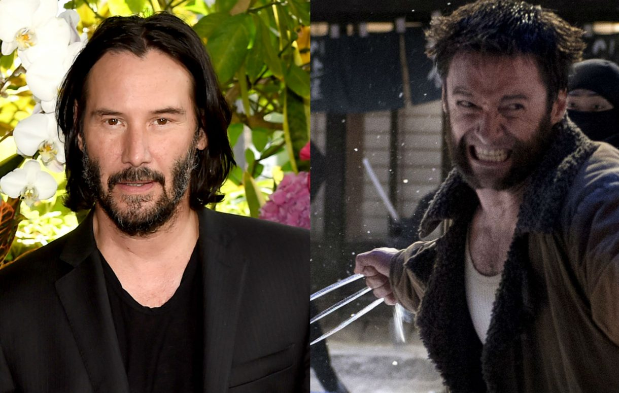 Keanu Reeves and Hugh Jackman