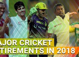2018 retirements