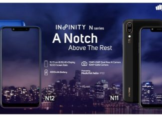 Micromax Infinity N12 and Micromax Infinity N11 price and specifications
