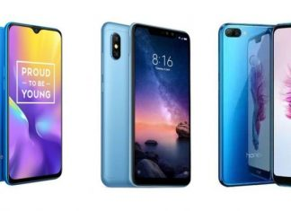 Realme U1 vs Xiaomi Redmi Note 6 Pro vs Honor 9N