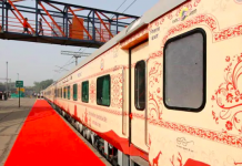 Buddhist tourism circuit train