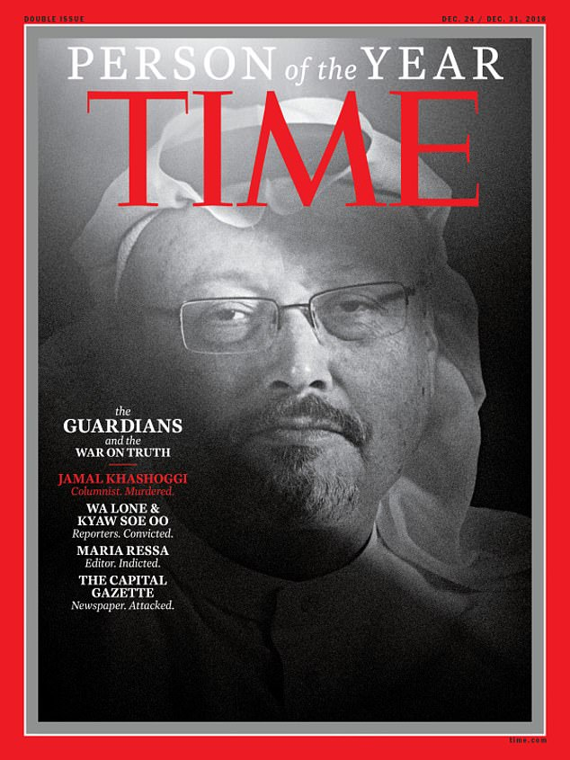 Time's 2018's person of the year