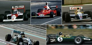 best-looking F1 cars