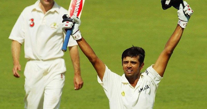 rahul dravid 233 vs australia
