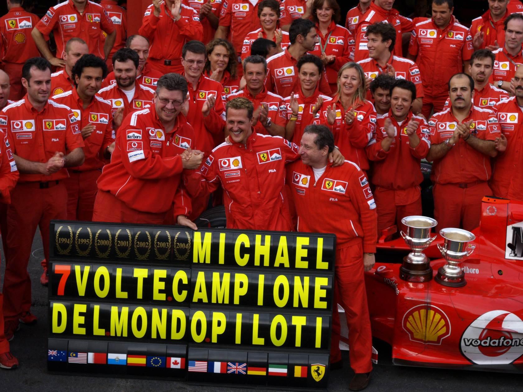 Top 5 moments of Schumacher