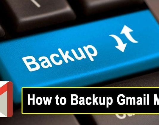 How to Backup Gmail E-Mails