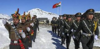 India China border road construction