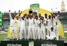 India vs Australia 2018-19 series