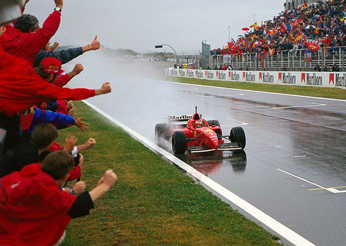 Top 5 moments of Schumacher