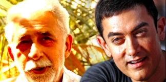 Naseeruddin Shah and Aamir Khan
