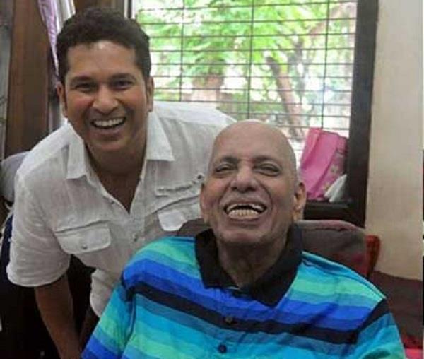 Sachin's coach Ramakant Achrekar