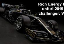 Haas 2019 F1 car