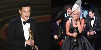 Rami Malek and Lady Gaga