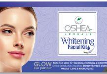 Oshea Whitening Facial Kit
