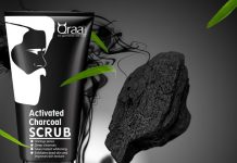 Qraa Men Activated Charcoal Scrub