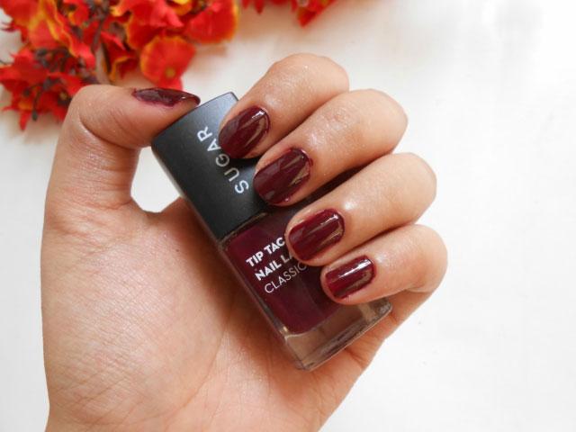 Sugar Cosmetics nail polish