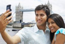 Indian tourists