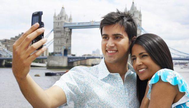 Indian tourists