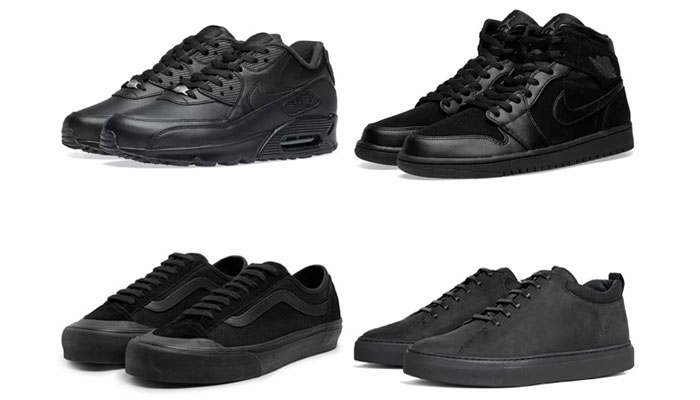 Black Sneakers-all black outfits for men - Black Mens Fashion