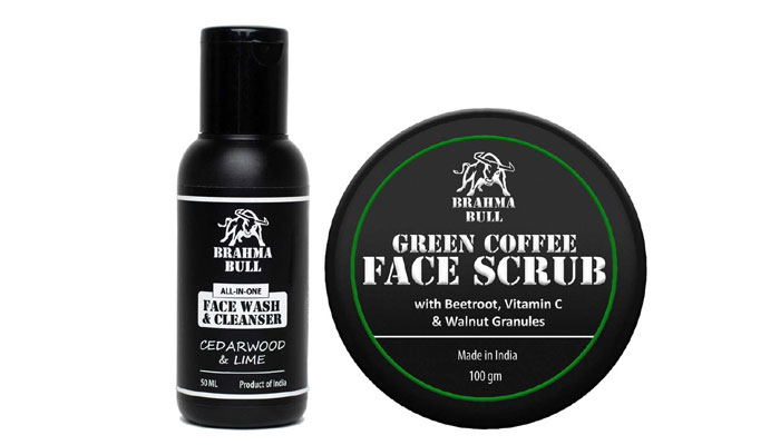 Face Cleansing Combo-face care gift for men