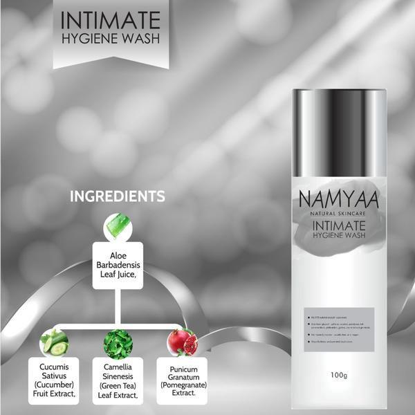 Namyaa Intimate Hygiene Wash ingredients