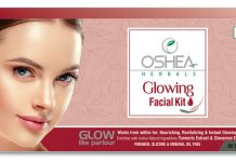 Oshea Herbals Glowing Facial Kit