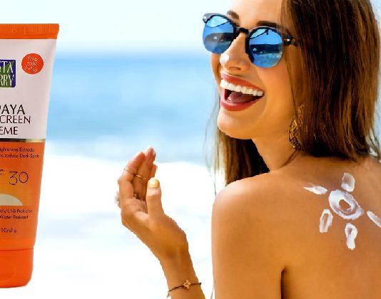 Astaberry Papaya Sunscreen Crème