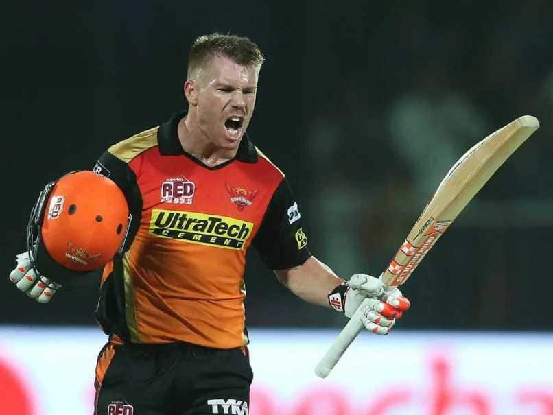 David Warner - Sunrisers Hyderabad- IPL