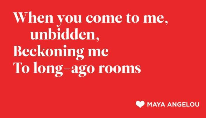 Maya Angelou Poetry-Poetry Is Beautiful