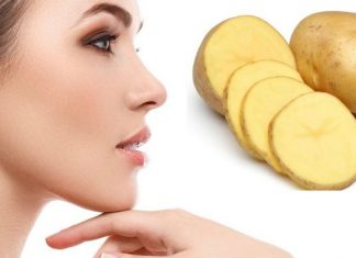 Potato beauty benefits