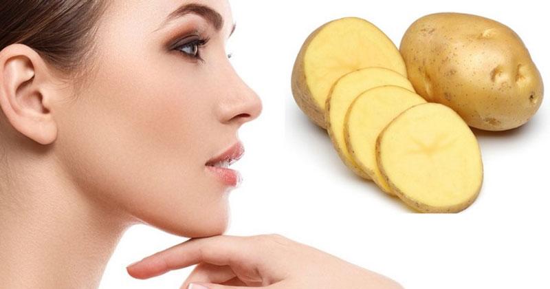 Potato beauty benefits