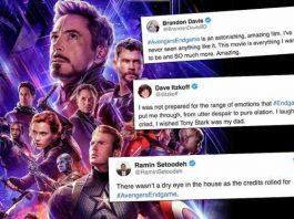 Twitter reactions To Avengers Endgame