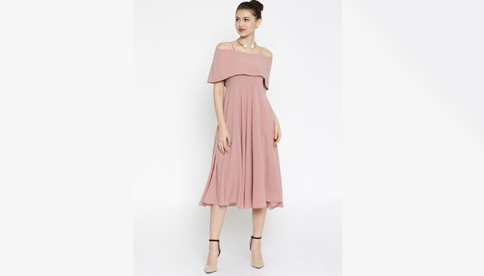 cold shoulder summer dress