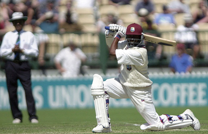 Brian Lara's high backlift