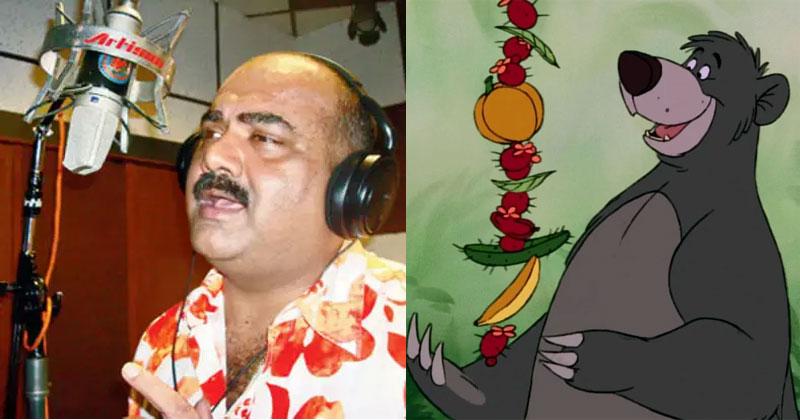 Chetan Shashital voice of baloo