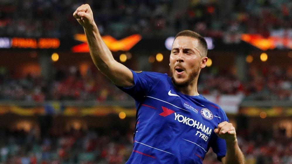 Eden Hazard europa league final