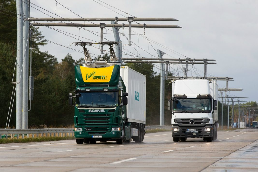 electric highway in Germany