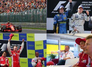 Kimi Raikkonen at Spain