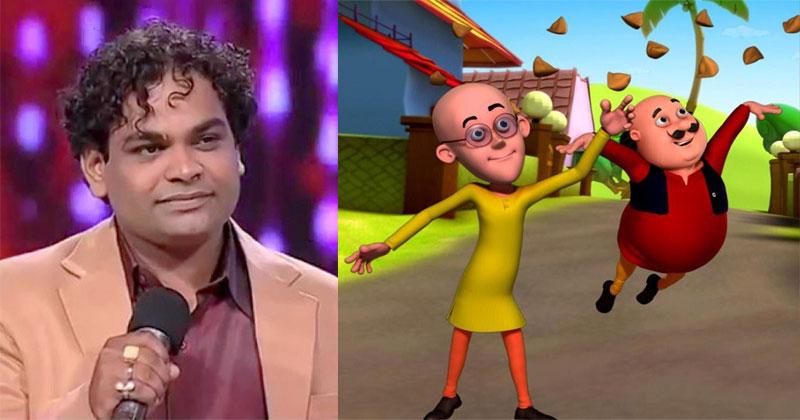 Saurav Chakraborty voice of Motu Patlu