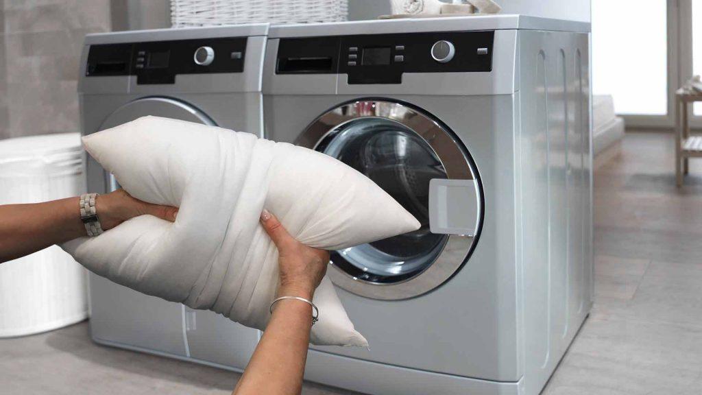 pillow washing